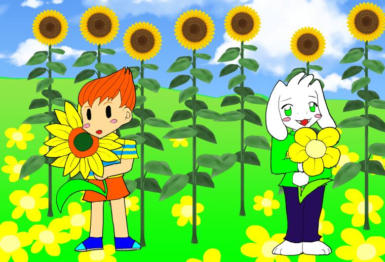 クラウスとアズリエル(子供)