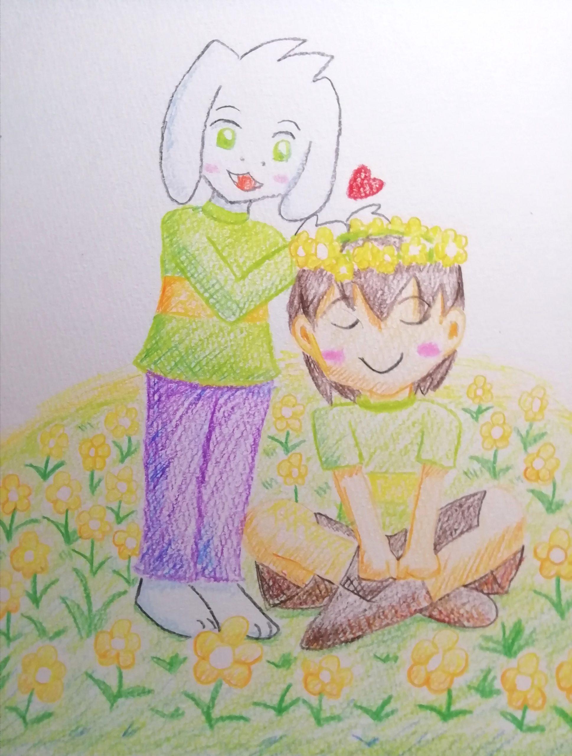 子供アズリエルとキャラ